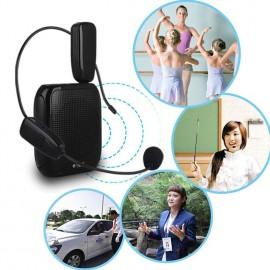 2.4G Wireless Microphone Speech headset Megaphone Radio Mic