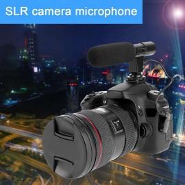 3.5mm Recording Microphone Digital Video DV Camera Studio Stereo Camcorder