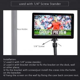 10in FHD 1080P Monitor 1920x1080 IPS Screen w Case