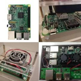 3 Model B ARM Cortex-A53 CPU 1.2GHz 64-bit Quad-Core 1GB RAM