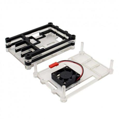 5 Layer ABS Case Enclosure Box Holder for 3 Model B 2BBlack