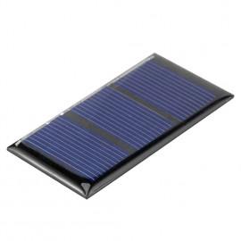 1pcs Solar Cell Module 0.2W 1.5V Polycrystalline Silicon 60*30mm Panel
